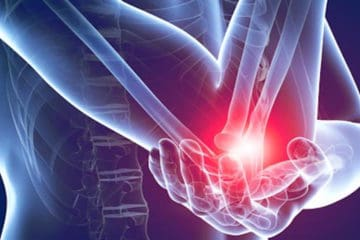 elbow pain such as tennis elbow or golfer's elbow