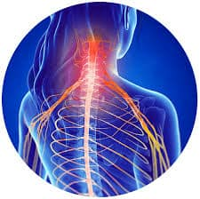 radiating nerve pain pain from a car accident or automobile accident
